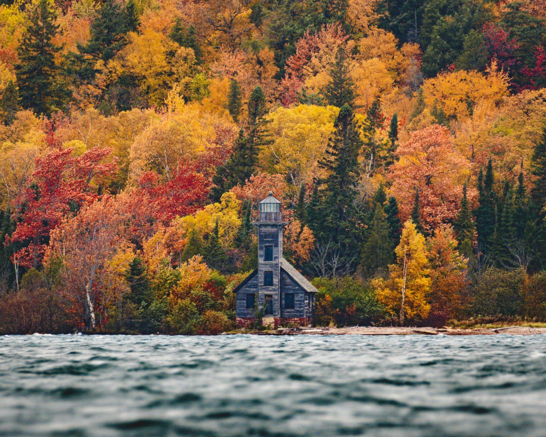 Ethan Allen, Grand Island East Channel Lighthouse