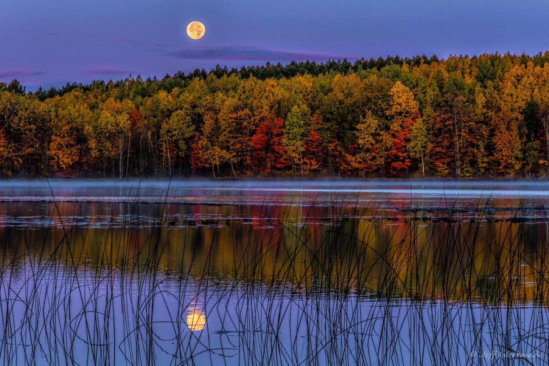 Jeff Wortman, Hunters Moon over Thornton Lake