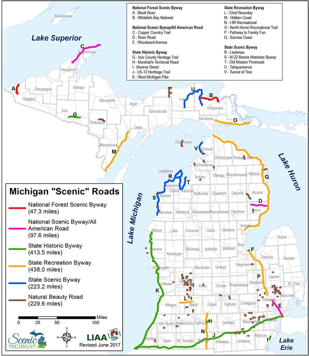 Developing a Scenic Roadmap for Michigan Scenic Michigan